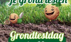 Grondtestdag 30 maart bij Groencentrum de Mortelen