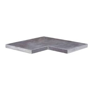 Bluestone rand hoek 40x20/20x3 cm