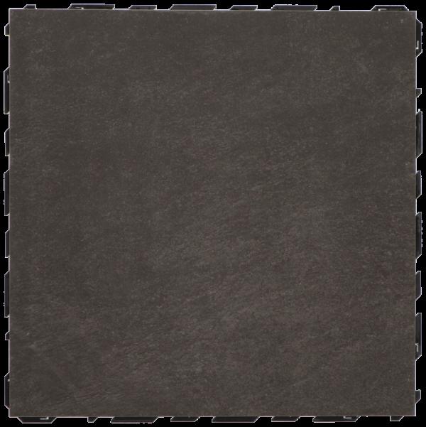 Ceramidrain 60x60x4 cm Quartz black