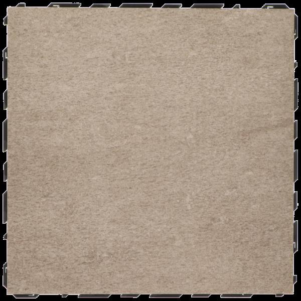 Ceramidrain 60x60x4 cm Quartz taupe
