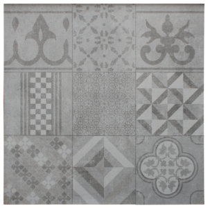Ceramiton 60x60x3 cm Mosaic Grey