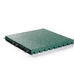 Veiligheidstegel 50x50x4 cm Groen