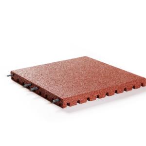 Veiligheidstegel 50x50x4 cm Rood