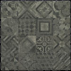 Ceramidrain 60x60x4 cm Decor grey