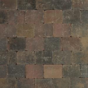 Metro Trommelsteen 20x15x6 cm Brons genuanceerd