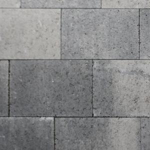 Metro Vlaksteen 30x20x6 cm Grijs-zwart