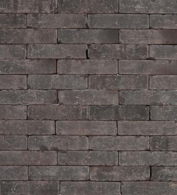 Rustiek waalformaat 20x5x6 cm Black panther