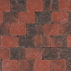 Tambour 20x15x6 cm Rood-zwart