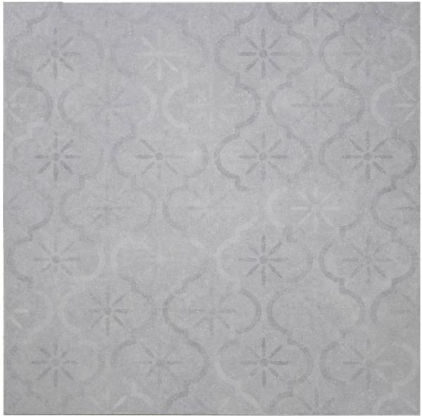 Ceramiton 60x60x3 cm Decor Grey
