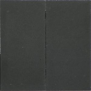 Estetico verso 60x30x4 cm Pit black